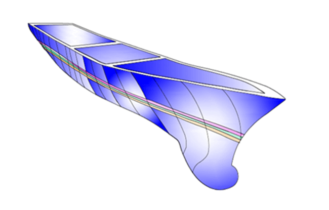 ship model in software