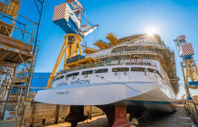 Fincantieri Launches Carnival Horizon Successfully