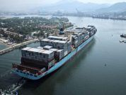 AIS Animation: Maersk Genoa Collides With Small Cargo Ship Off Port of Antwerp