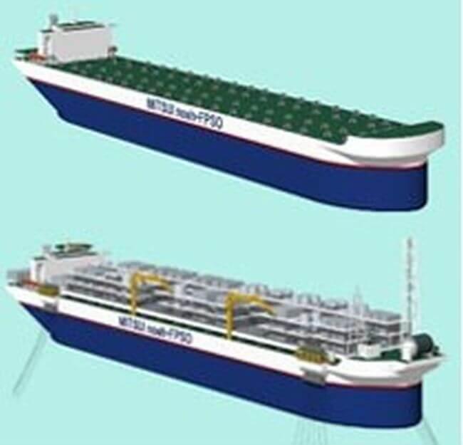 Design Bureau Noah.Bureau Veritas Grants Aip For Next Generation Fpso Hull Platform Design