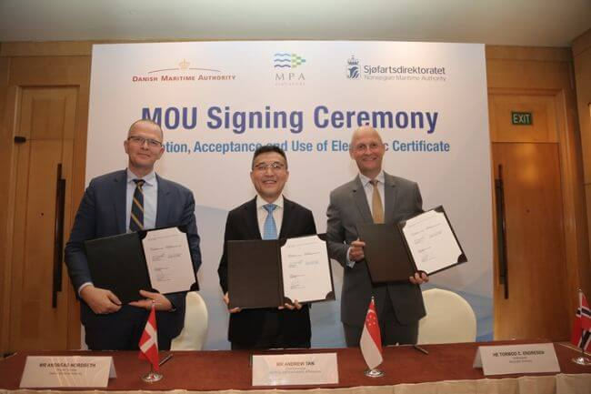 MoU+step+to+digitalise+shipping+industry
