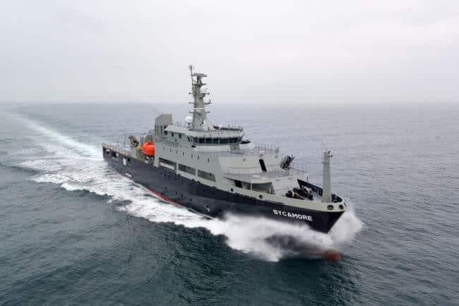 Multi-role Aviation Training Vessel MV Sycamore1