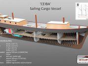 CEIBA-sailing cargo vessel