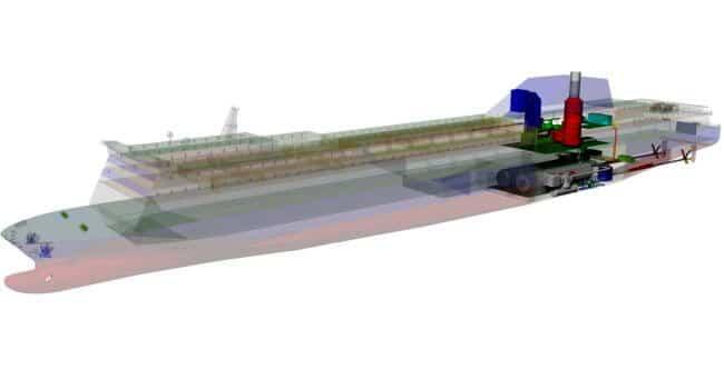 COGES LPG fueled ferry cutaway 5-17