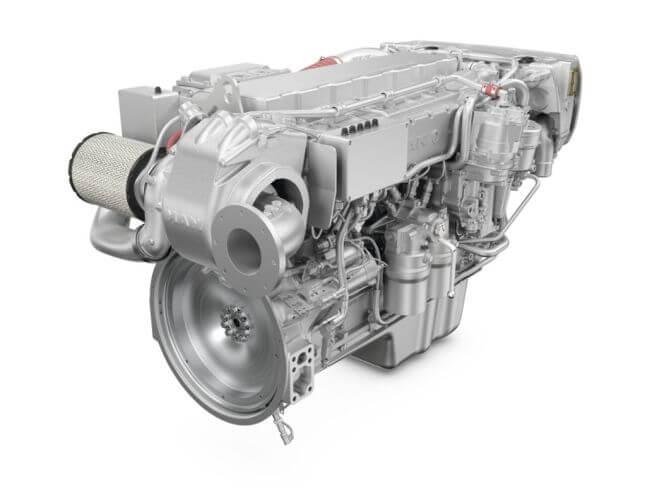 MAN rollo engine