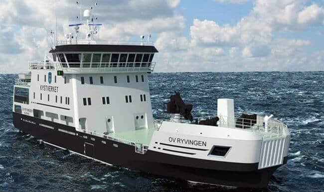 Norwegian coastal administraiton vessel_rollsroyce