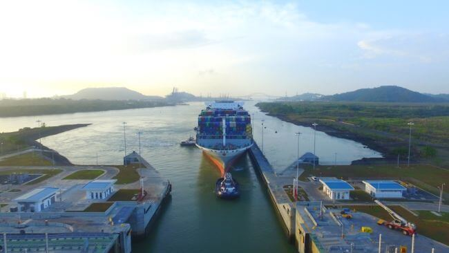 Panama Canal_OOCL France