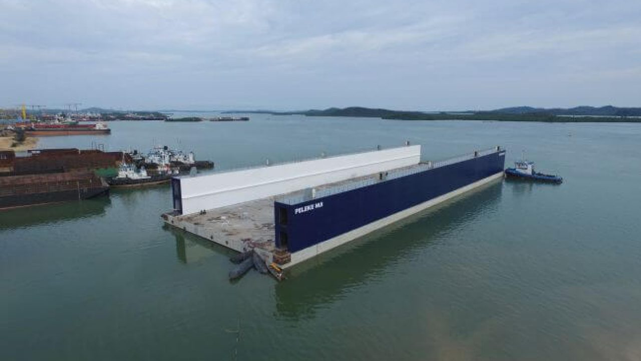 GL E&C Launches Southeast Asia's Largest Concrete Floating