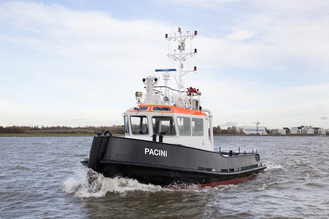 The propeller will be based on a Promarin design that is typically found on a Damen Stan Tug1606