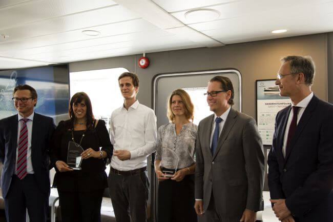 Winners of the DNV GL Young Professionals Award 2017