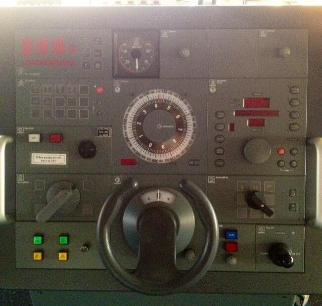 steering gear in ship