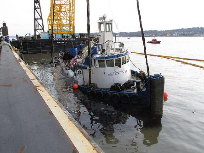 Ntsb Issues Reports On 2016 Hudson River Tugboat Sinking