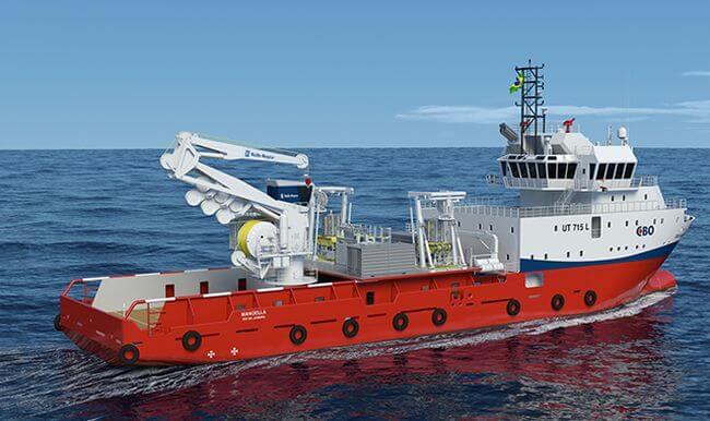 world's first hybrid subsea crane