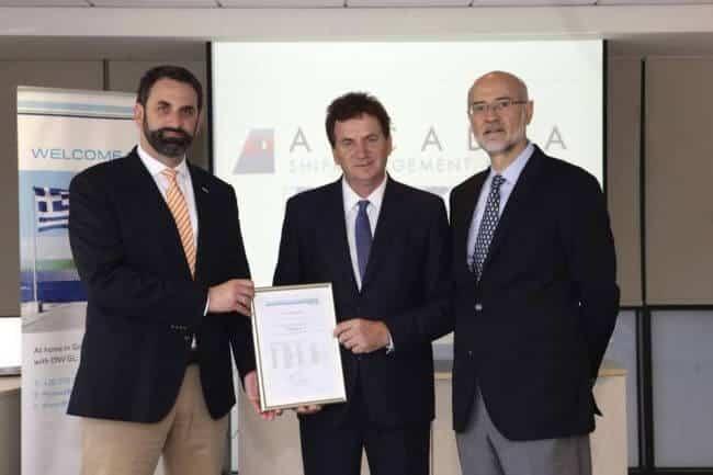 Arcadia Shipmanagement receives first DNV GL verified EU MRV monitoring plans