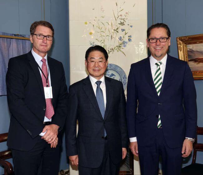 DNV GL signs JDP agreement with SHI at Nor-Shipping