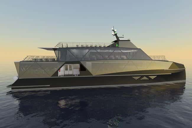 Eco Tour Vessel Incat Crowther