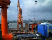 Containerships' New LNG Vessel Taking Shape In China
