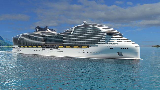MSC Cruises LNG STX France