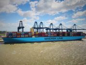 Maersk Madrid Eases Into Felixstowe After Pilot Training Using HR Wallingford's Navigation Simulators