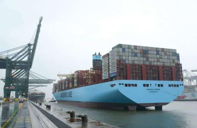 Maersk Madrid Port of antwerp