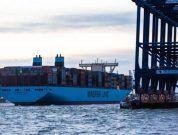 Maersk Madrid Port of felixstowe