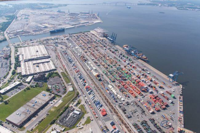 Port of baltimore_maryland