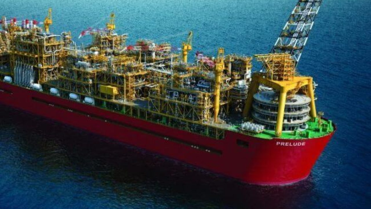 Shell's Prelude FLNG Begins Its Journey To Australia