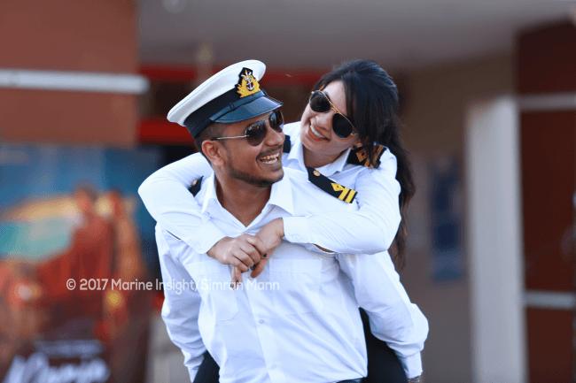 Sailor Couple: An Ocean Of Love