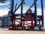Gantry crane port of felixstowe