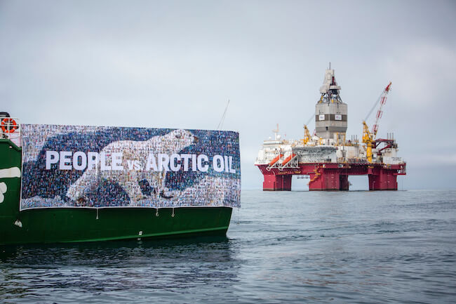 Greenpeace statoil protest