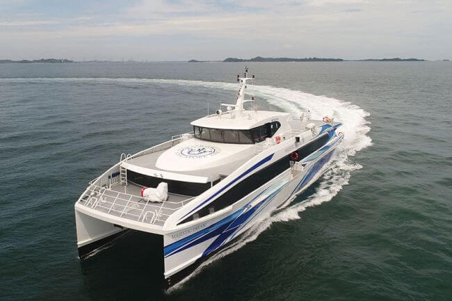 Incat Crowther_Majestic Ferries_Dream