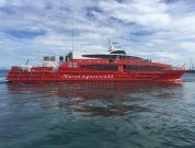 Austal Delivers First High Speed Passenger Ferry To South Korea