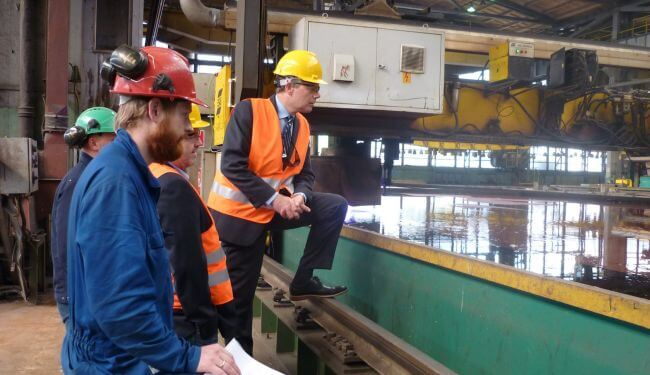 Steel-cutting-is-the-production-start-of-a-shipbuilding-project