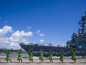 Watch: USS John Finn Commissioning In Pearl Harbor Ceremony