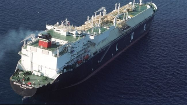bp shipping gas carrier