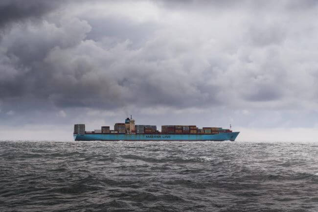 container-ship Maersk