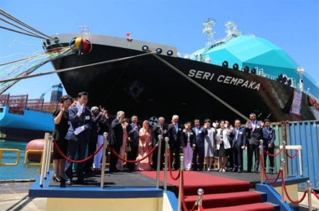 e LNG Carrier, the Seri Cempaka1