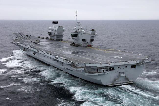 3 HMS Queen Elizabeth