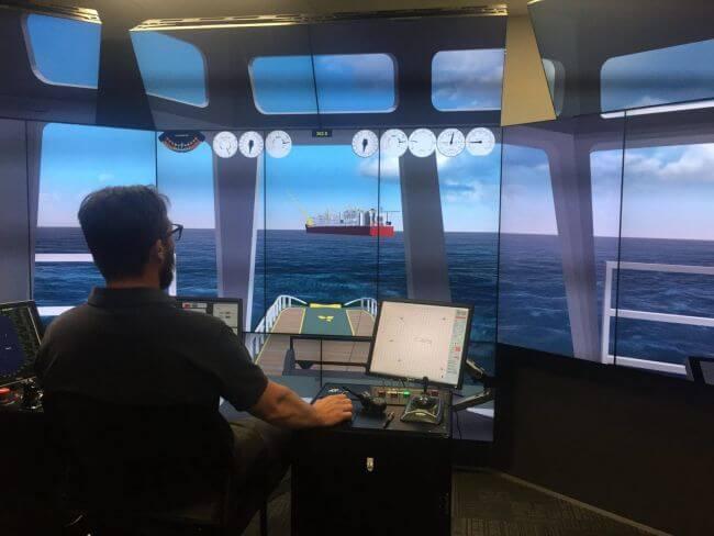 Capt Mike Johnson tug-master-Prelude-LNG
