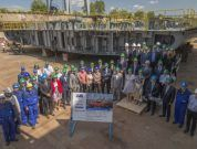 Damen antarctic research vessel keel laying1