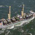 Damen vessel transport has arrived in the Port of Rotterdam