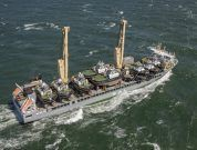 Damen vessel transport has arrived in the Port of Rotterdam