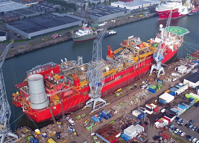 FPSO Petrojarl 1 after refit ready for delivery