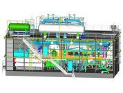 Gaslog Knutsen 3D_Wartsila re-liquefication plant