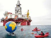 Greenpeace protests norway_arctic drilling1