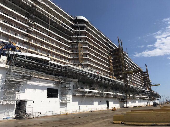 MSC Seaview_Fincantieri Float Out