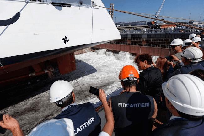 MSC Seaview_Float Out_Fincantieri