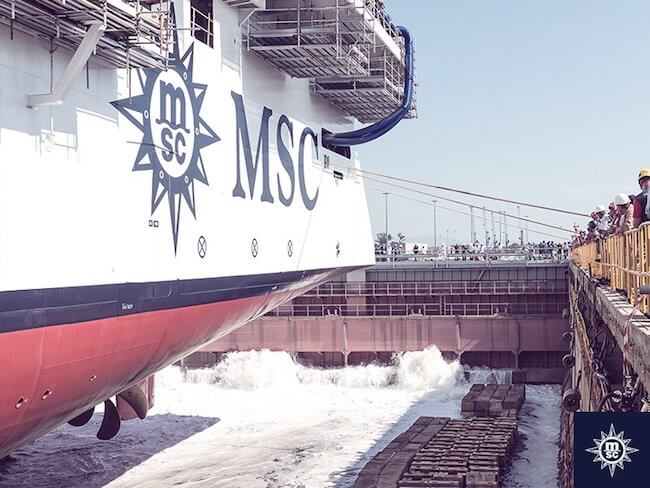 MSC_Seaview_Float_Out at Fincantieri