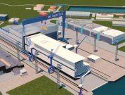 MV Werften Construction hall 1