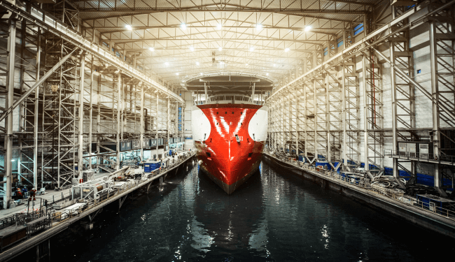 OCV-vessel-Polar-Onyx-Ulstein-Verft-dock-hall-photo-Marius-Beck-Dahle
